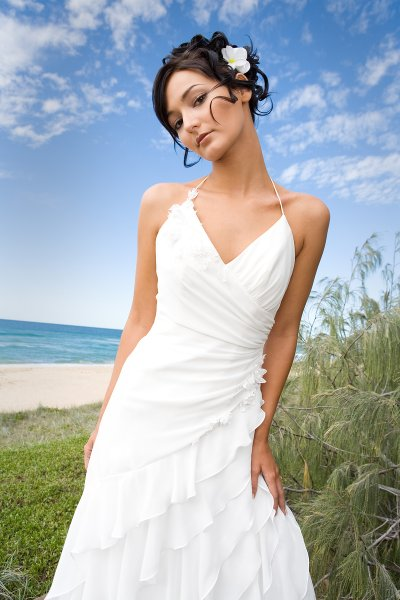 Wedding dress design casual beach wedding dress for Wedding dresses casual beach