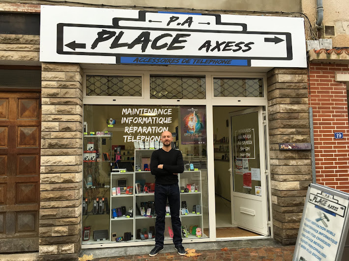 ouverture du magasin place axess