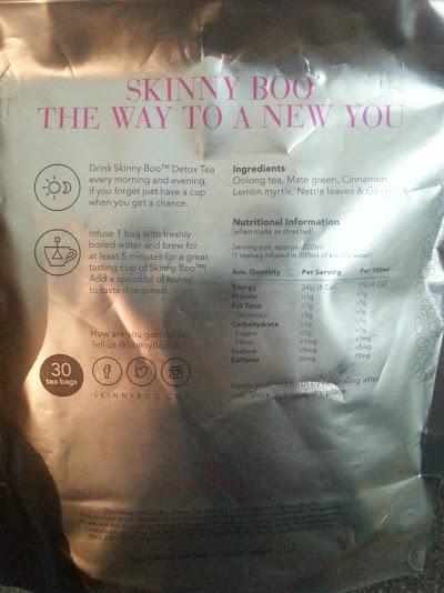 Skinny Boo Tea