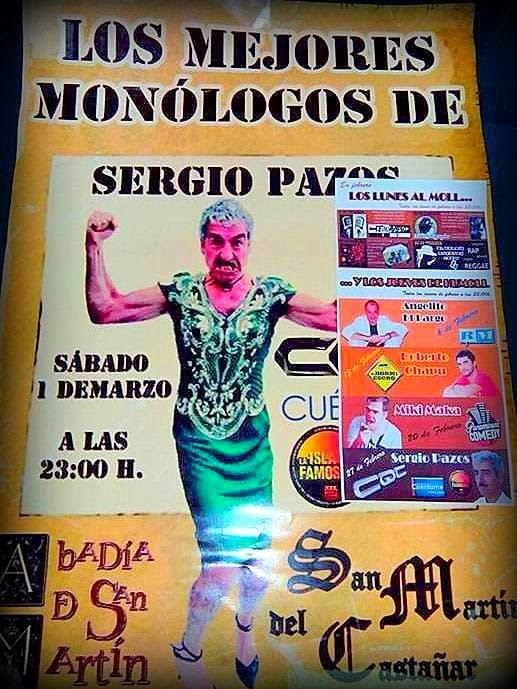 1/Marzo: Monólogos. San Martín del Castañar