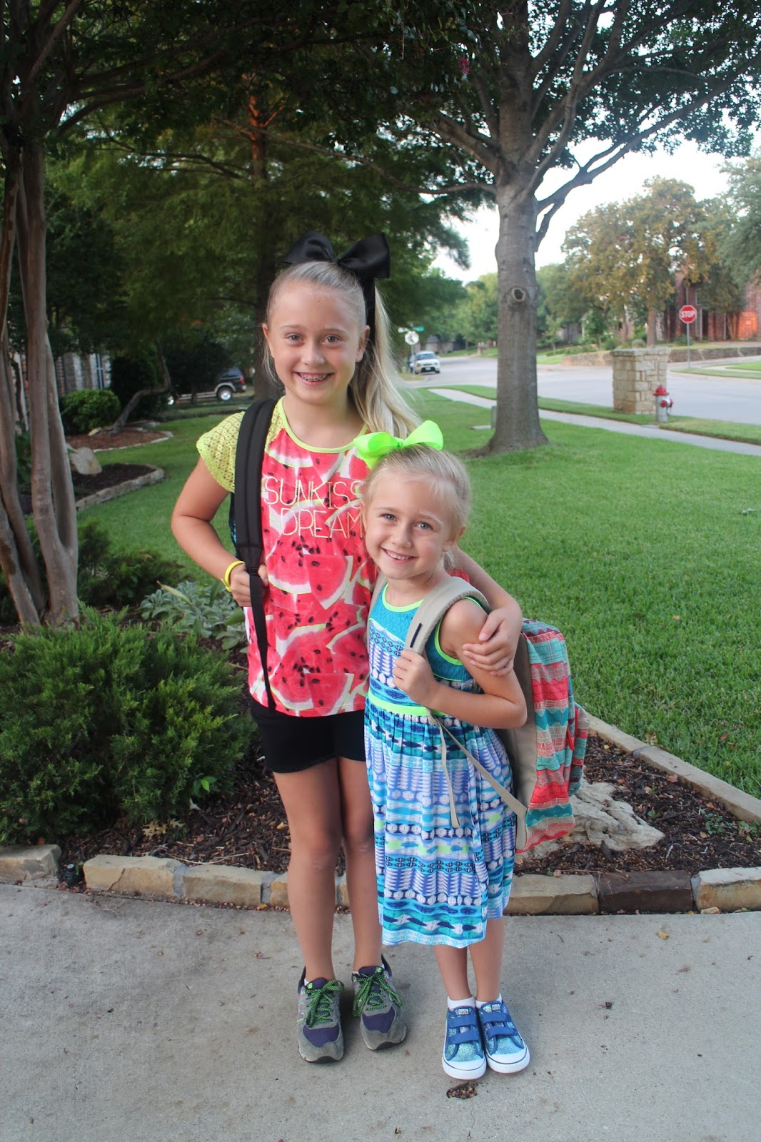 conner family: Kindergarten & 4th Grade