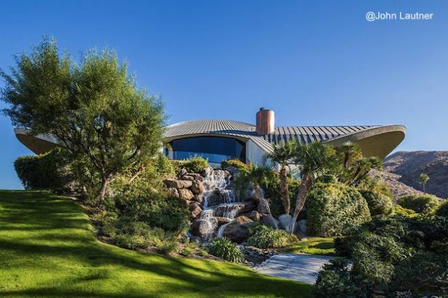 Perfil de la casa de Bob Hope en California diseñada por John Lautner