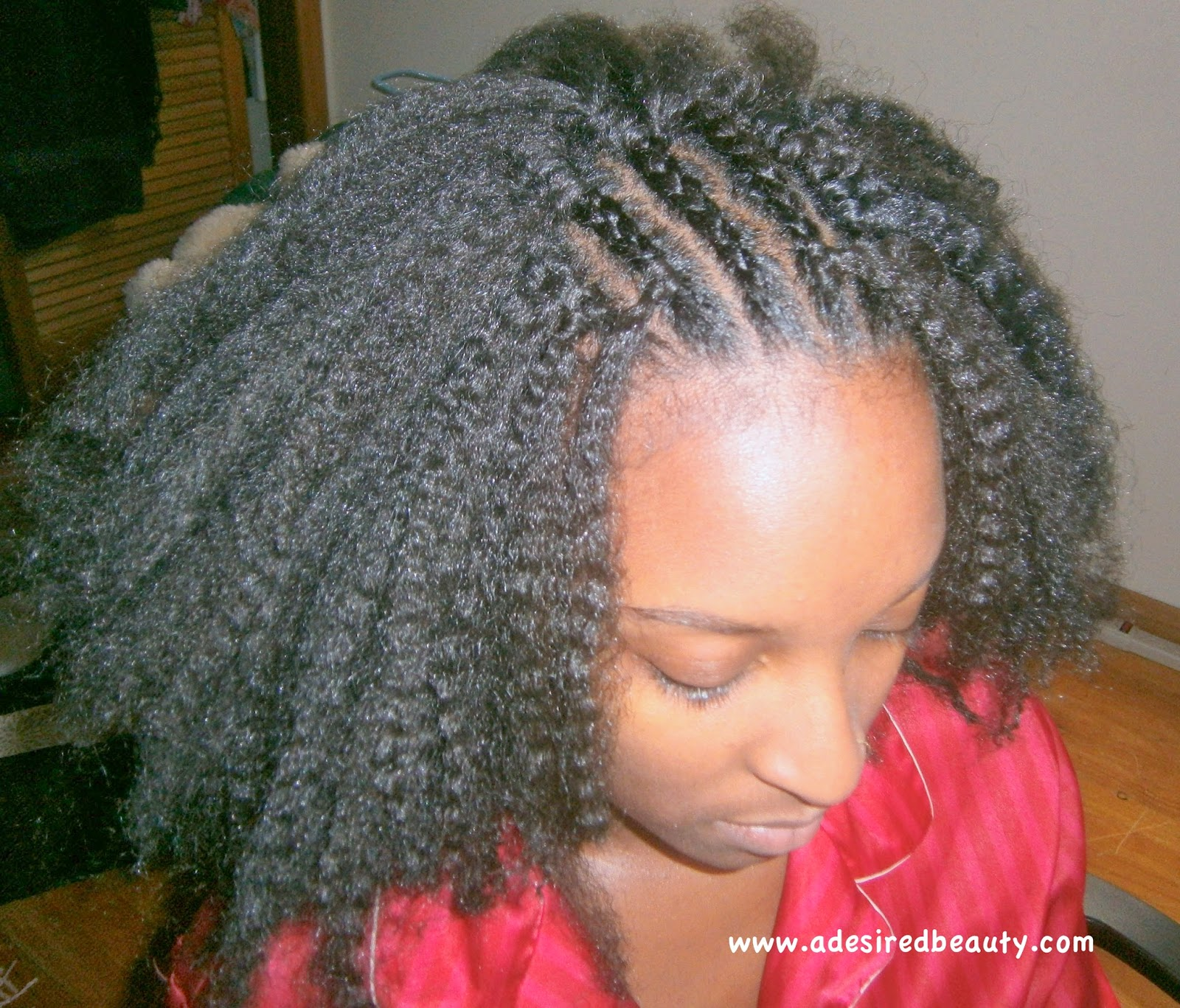 Crochet Braids Install : Installing My Sisters Crochet Braids {Inspiring My Own} A Desired ...