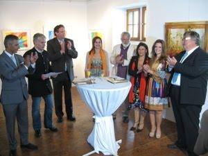ARTIBUS  2 - 2011 - Ausstellung in Burgstolberg -  Exposição no Castelo em Stolberg na Alemanha.