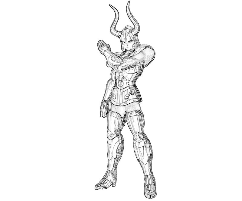 capricorn-shura-character-coloring-pages