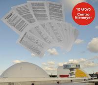 Manifiesto de profesionales las Artes en apoyo al Centro Niemeyer
