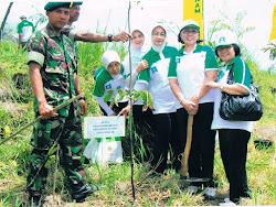 menanam satu milyat pohon di klaten