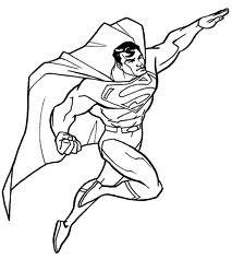 Coloriage De Superman A Imprimer - Coloriage Batman Superman a Imprimer Gratuit