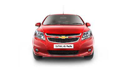chevrolet sail u-va front view