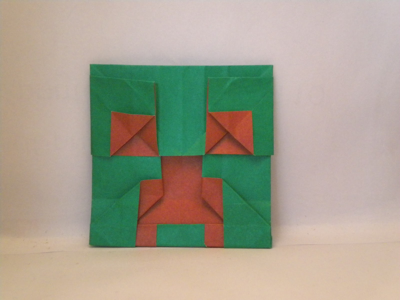 pin minecraft origami creeper image search results on