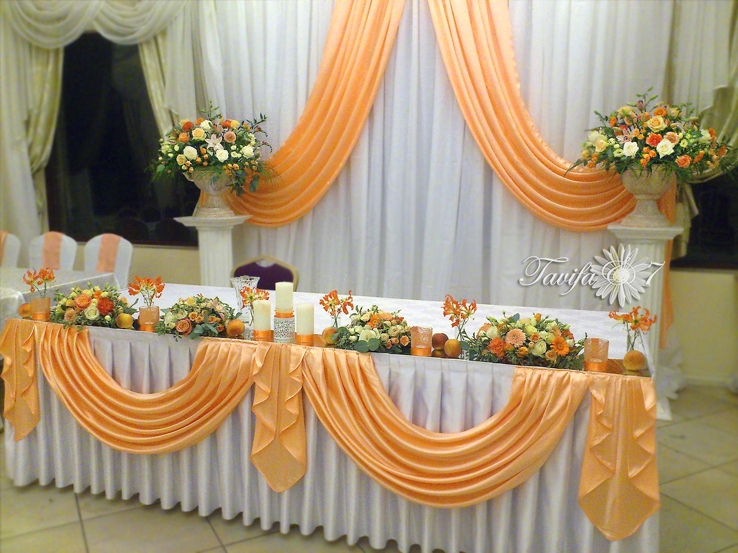 Драпировка свадебного стола своими руками пошагово 88