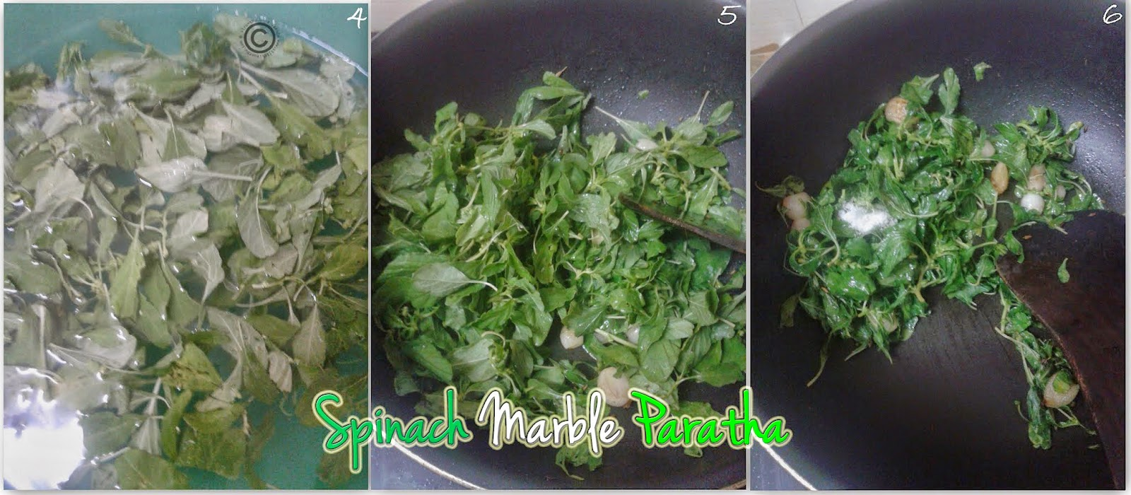 green-paratha