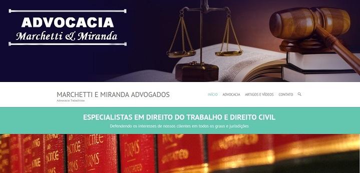 BEM-VINDO ao site de Marchetti & Miranda Advogados.