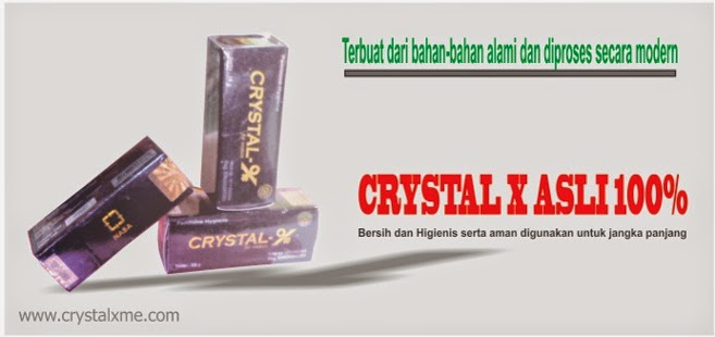 jual crystal x asli terjamin 100%
