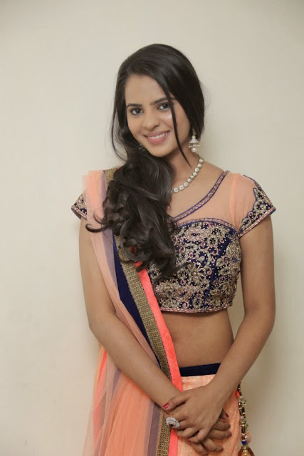 Telugu Actress Manasa Himavarsha Latest  Picture Gallery in Half Saree 0008.jpg