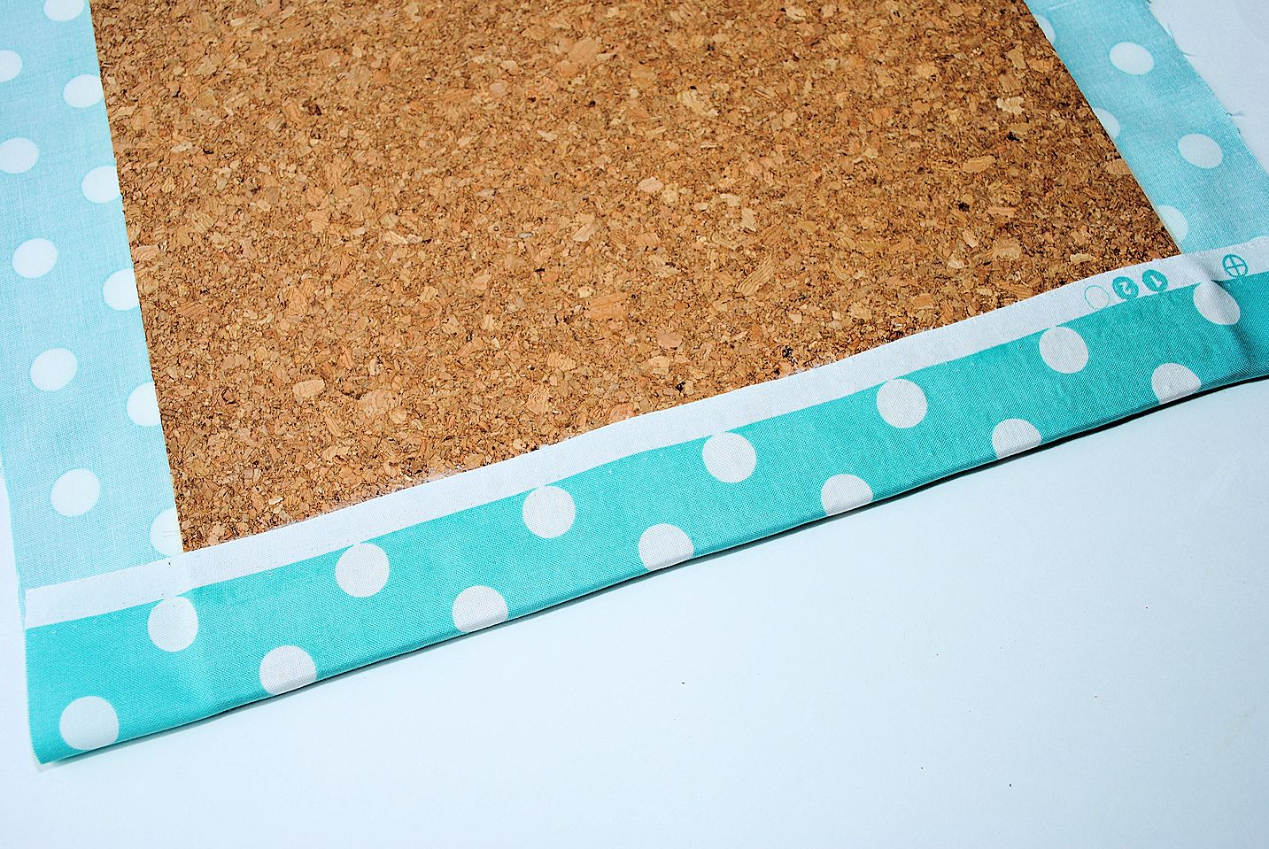 Fabric Covered Bulletin Board Crazy Little Projects