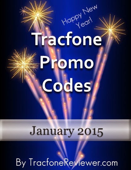 Tracfone Promo Codes for January 2015