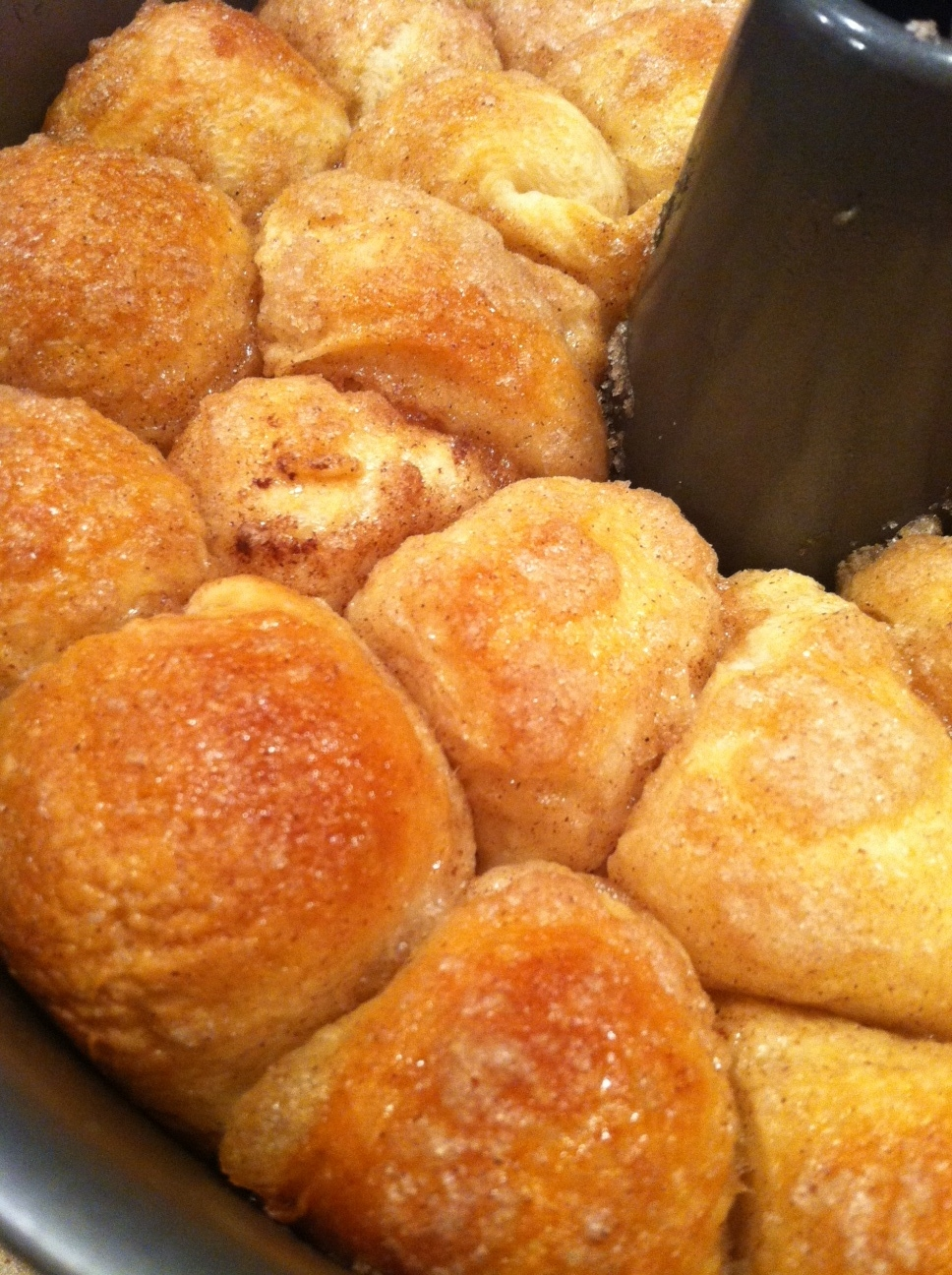 When tapped on top, your Monkey Bread should have a hollow sound. It ...