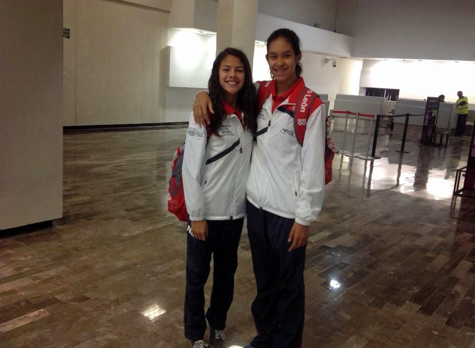 Cecilia Zesati y Deyna González