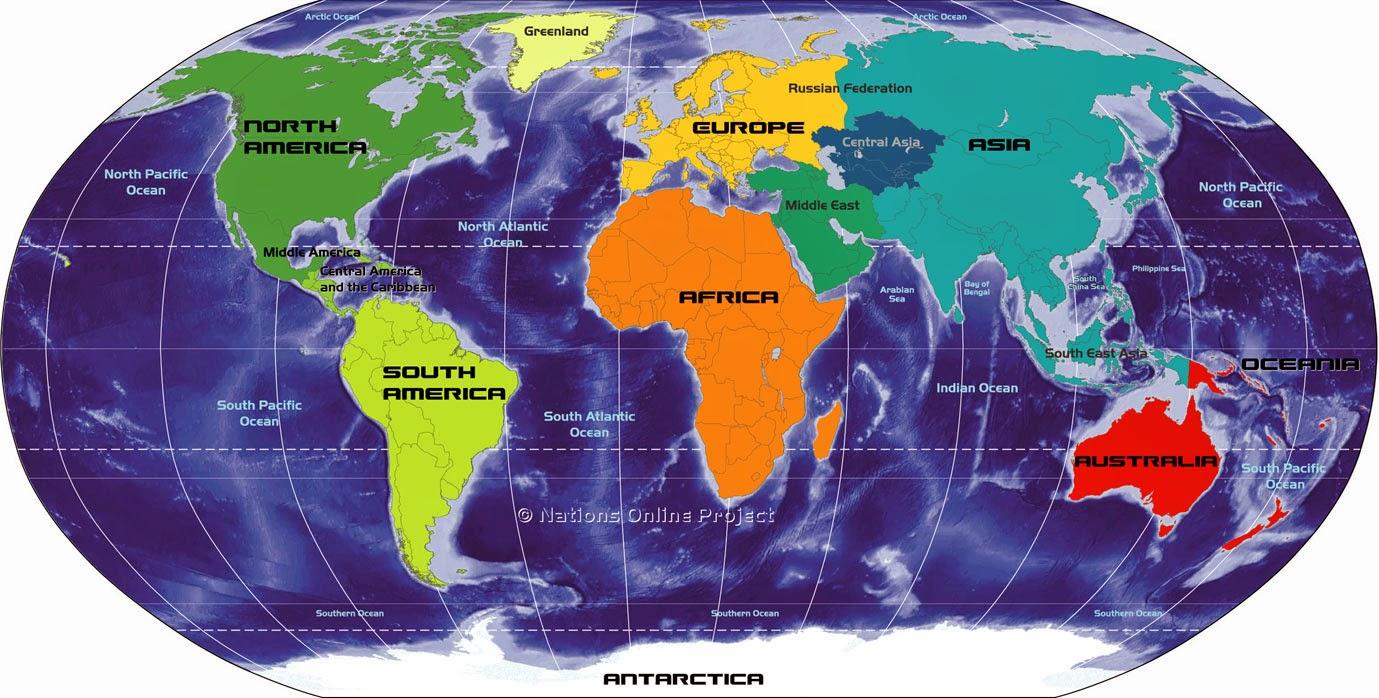 World Map: Latest News updates, List of Websites