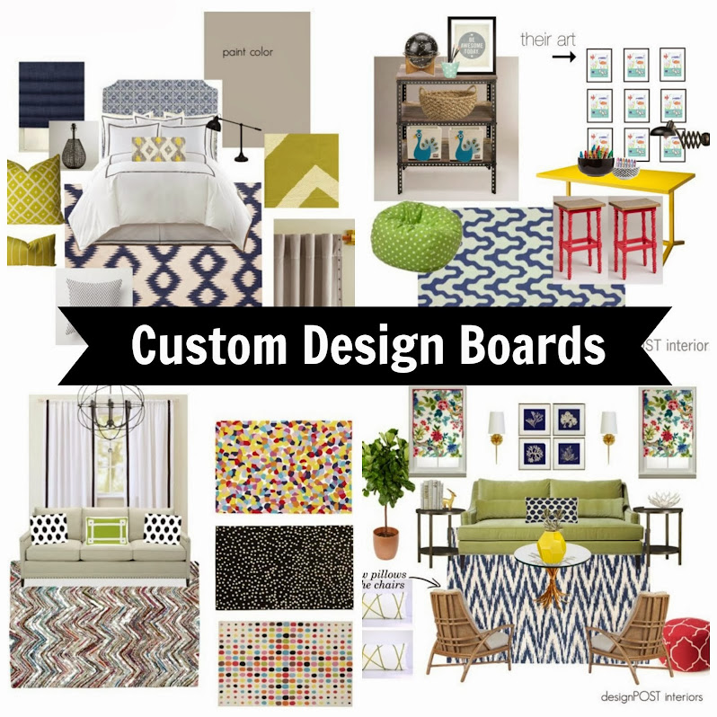 Design Boards for e-clients & locals