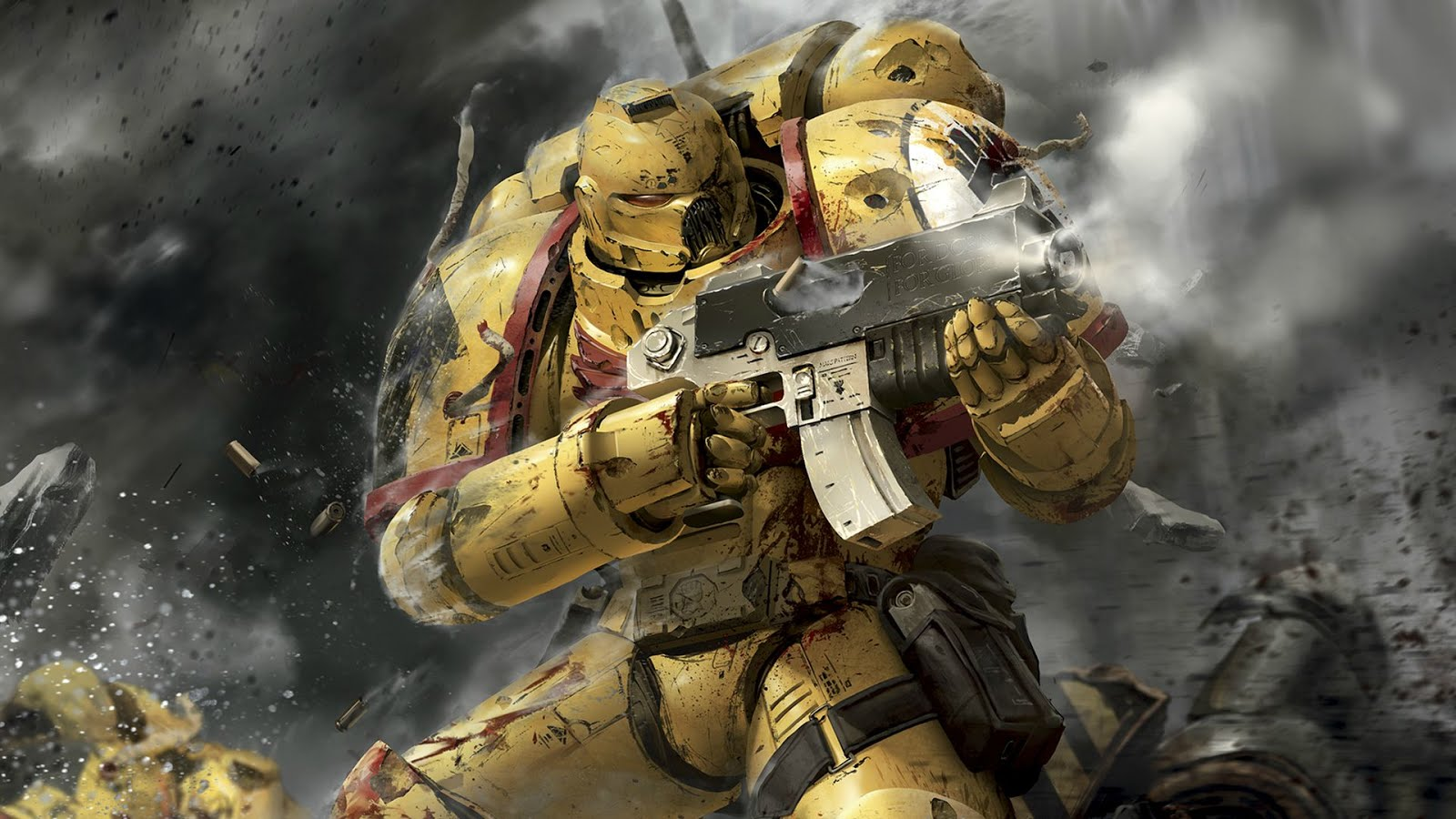 The Imperial Fists...