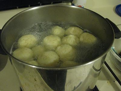 Gluten Free Matzo Balls