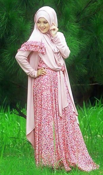 Gambar Desain Baju Muslim Trendy