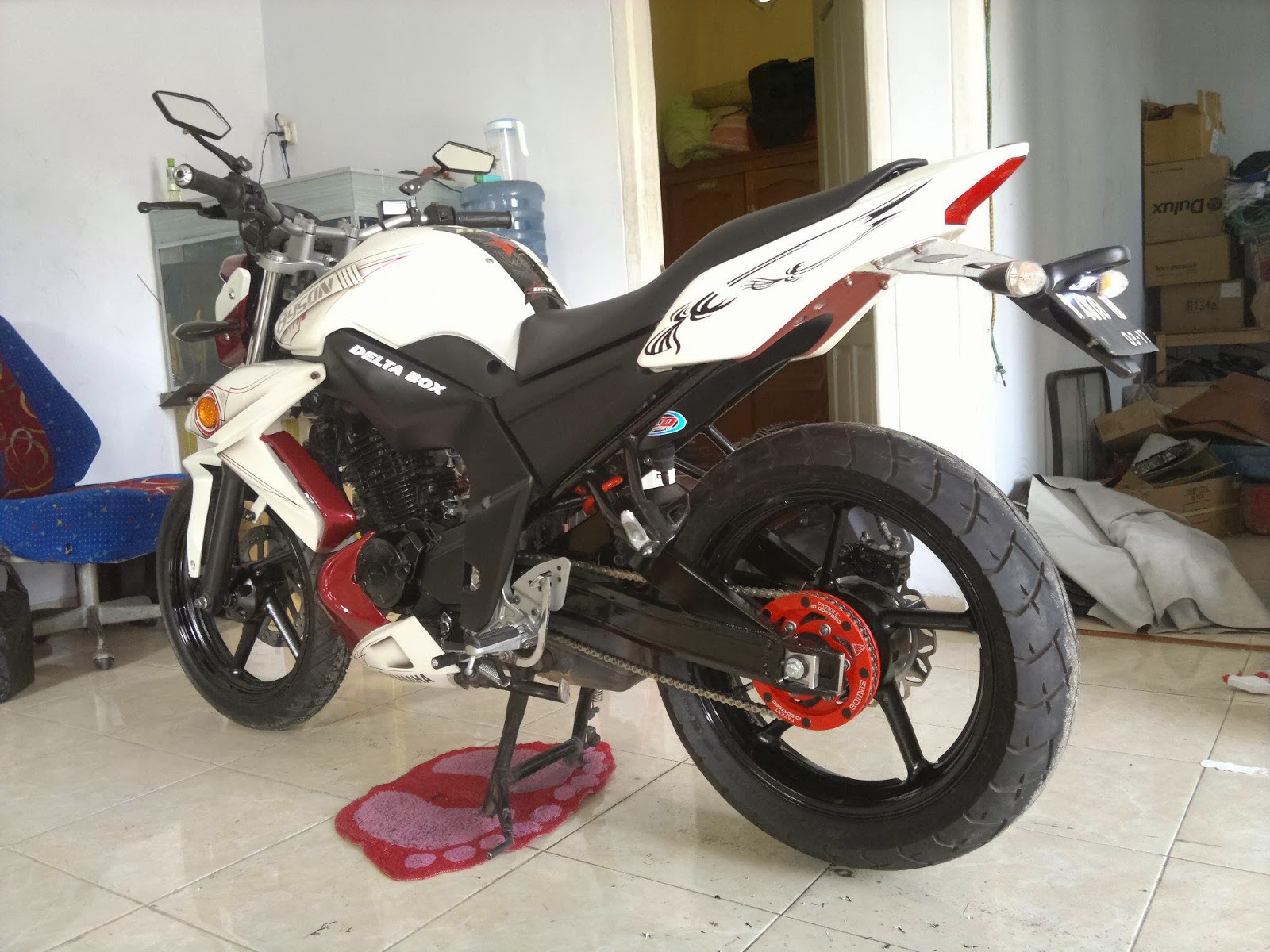 Modifikasi Yamaha Byson Minimalis, Upgrade Kesan Fighter