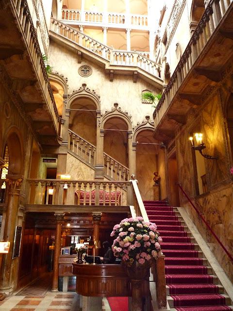 Stairway, Hotel Danieli, Venice