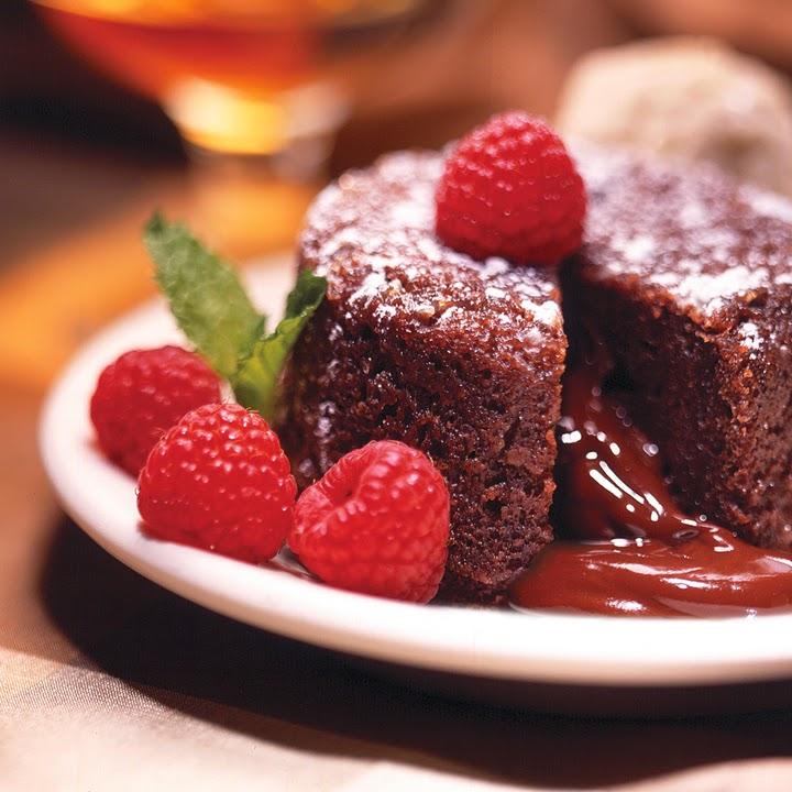 soufflé de chocolate para bajar de peso