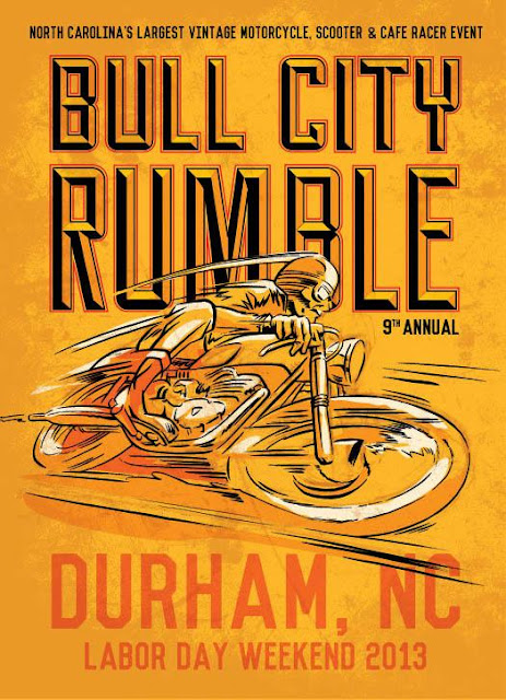 Bull City Rumble, Aug 30 - Sep. 1, 2013, Durham, NC