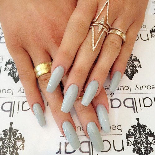 Long Skinny Square Nails Best Nail Designs 2018