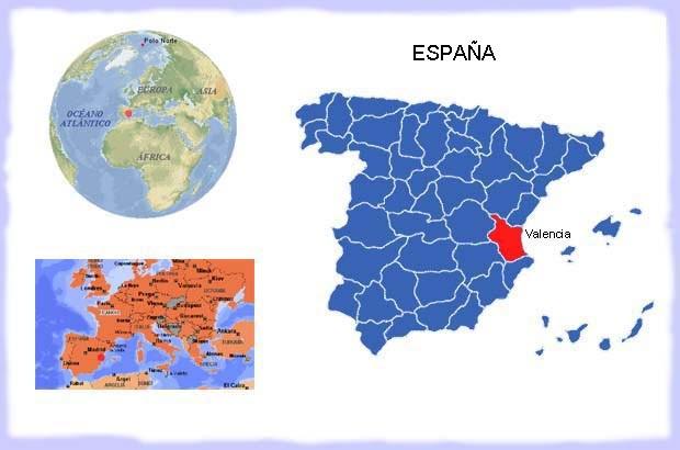 Agenda m gica de mar valencia espa a lugares por - Humedad relativa espana ...