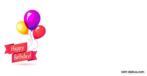 Status chúc mừng sinh nhật - mẫu 9