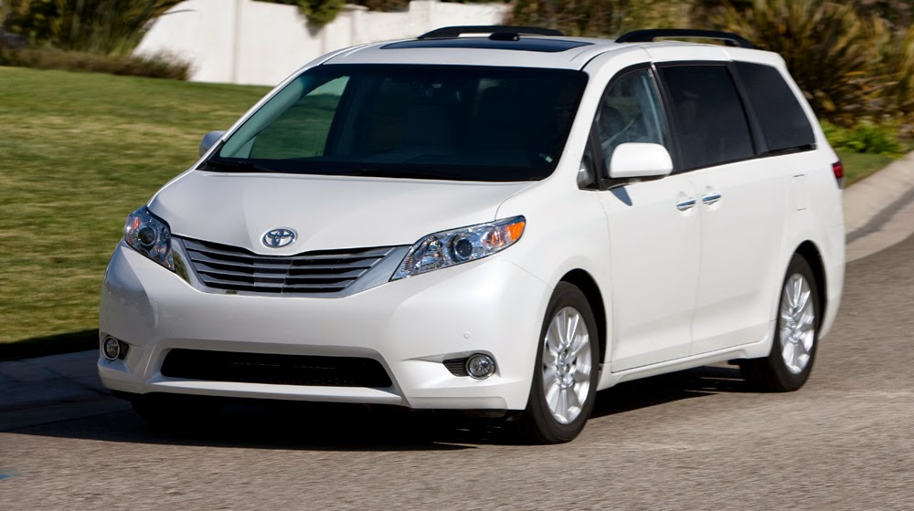 Toyota Sienna 2015 Review