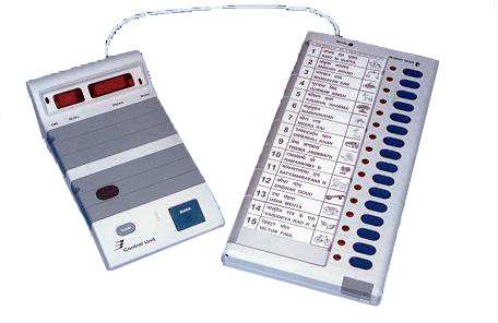 electronic voting machine working