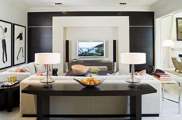Decora o de sala 45 salas decoradas decor alternativa for Idee per tinteggiare il salotto