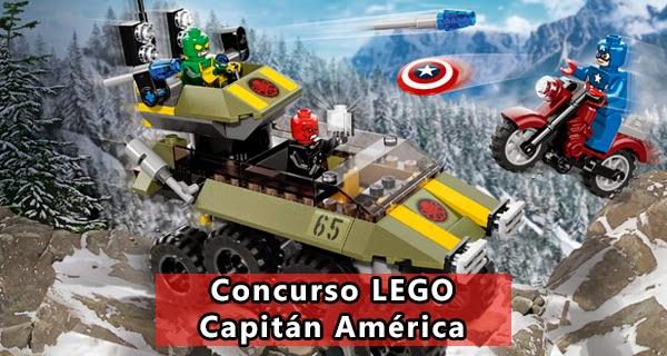Concurso LEGO Capitán América