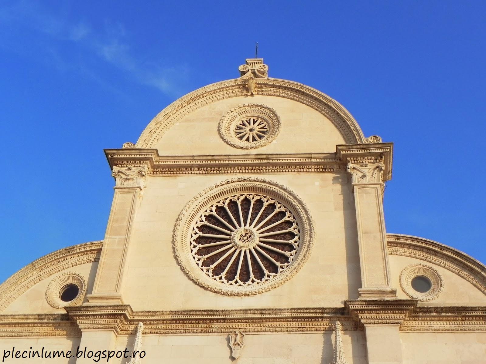 Fatada catedralei Sf. Iacob, Sibenik