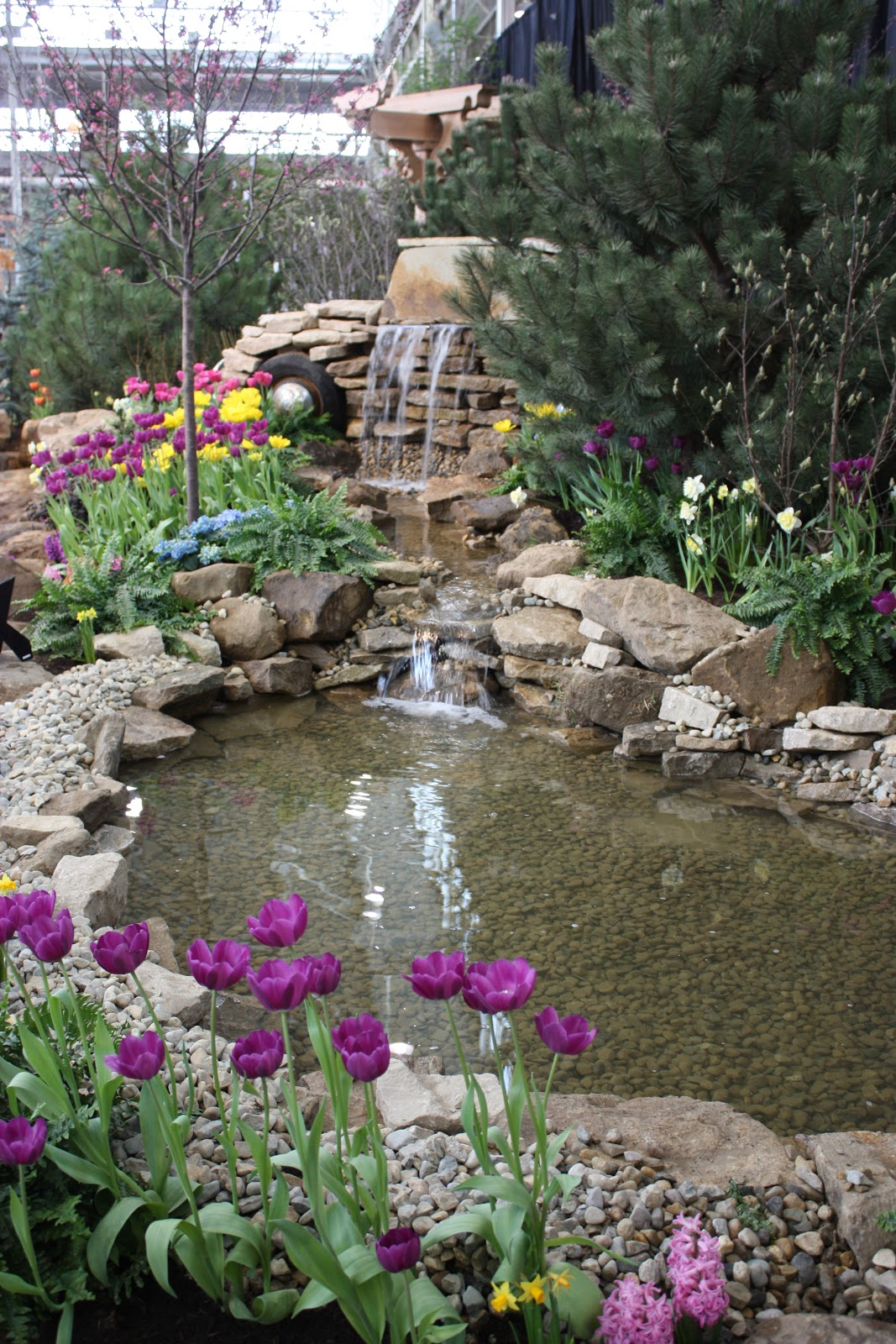 Rain Chain Waterfall : Garden Thyme with the Creative Gardener: More Great Water Features for ...