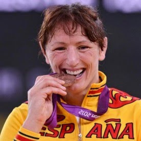 medalla de bronce Maider Unda en lucha -72 kg España Juegos Olimpicos de Londres 2012