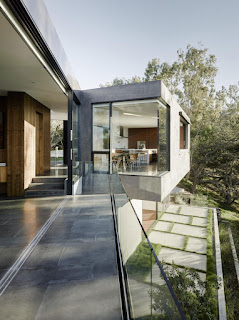 contemporary hill house