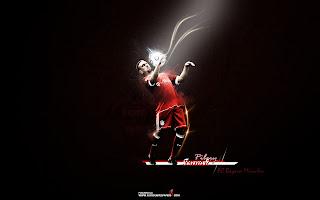 Franck Ribery Bayern Munich Wallpaper 2011 6