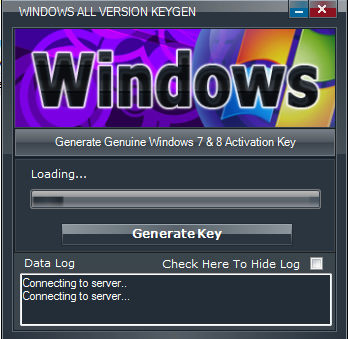 widows 7 product key generator