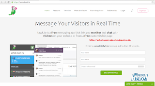 Cara Membuat Live Chat Admin Di Blog