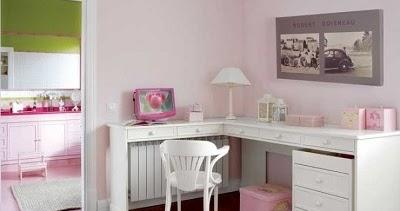 Escritorio en esquina para ni as sillas y escritorios - Escritorios en esquina ...