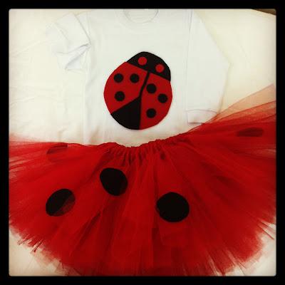 tütülü uğur böceği kostüm