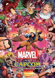 artbook capcom marvel street fighter x men