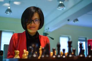 La championne du monde d'échecs chinoise Hou Yifan - Photos © Alina L'Ami